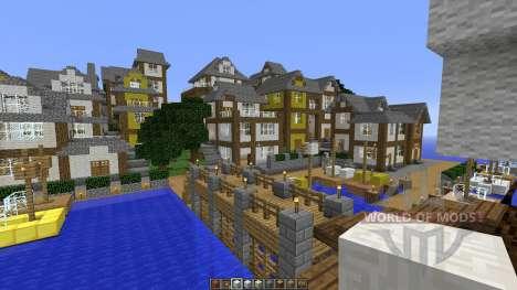 Minecraft town-Oakville для Minecraft