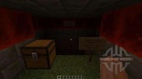 Layers A modern mountain house для Minecraft