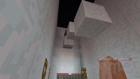 Snowy Planes Parkour [1.8][1.8.8] для Minecraft