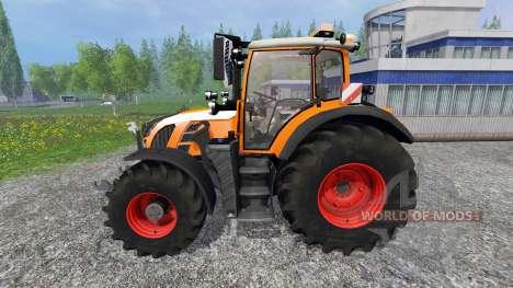 Fendt 718 Vario orange для Farming Simulator 2015
