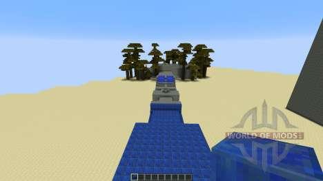 1vs1 Race для Minecraft