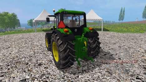 John Deere 6150M для Farming Simulator 2015