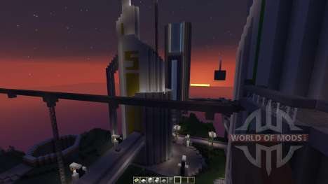 Future CITY для Minecraft