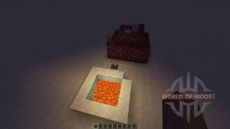 Lava speed run для Minecraft