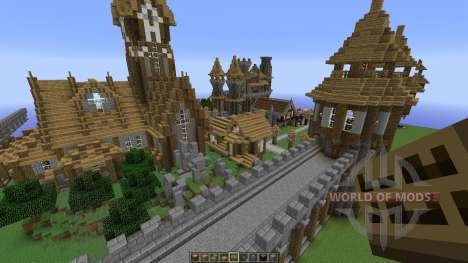 A Server spawn map для Minecraft