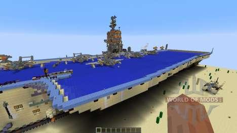 Opposite Aircraft Carrier для Minecraft