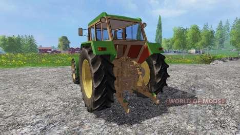 Schluter Super 1050V v2.0 Green для Farming Simulator 2015