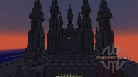 The Sand Castle для Minecraft
