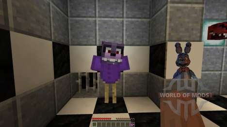 Fazbear Fright The Horror Attraction[1.8][1.8.8] для Minecraft