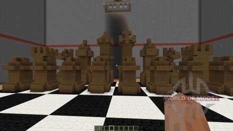 Playable Chess in Minecraft для Minecraft