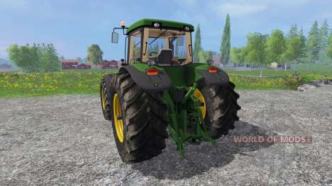 John Deere 8520 v2.0 для Farming Simulator 2015
