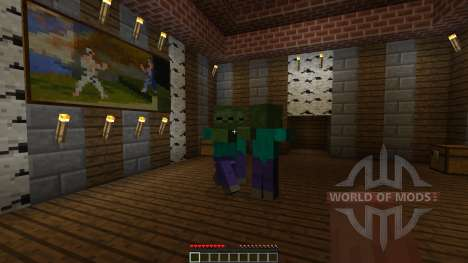 A Villager in the Library [1.8][1.8.8] для Minecraft