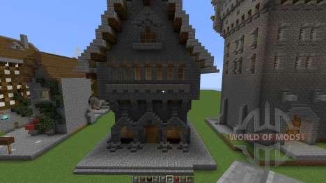 Medieval building pack для Minecraft