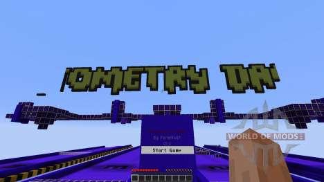 Geometry Dash для Minecraft