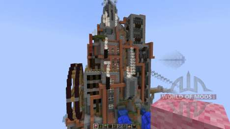 Steam Punk Sky Build [1.8][1.8.8] для Minecraft