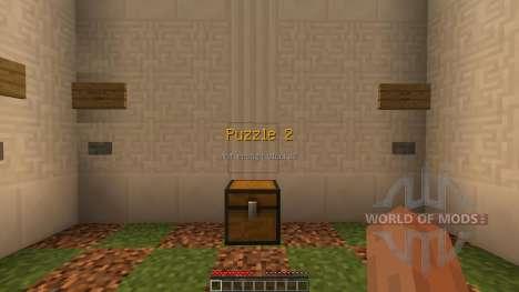 The Wooden Puzzles [1.8][1.8.8] для Minecraft