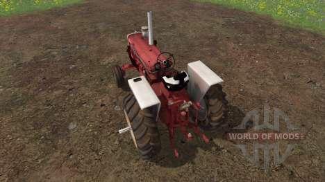 Farmall 1206 single wheel для Farming Simulator 2015