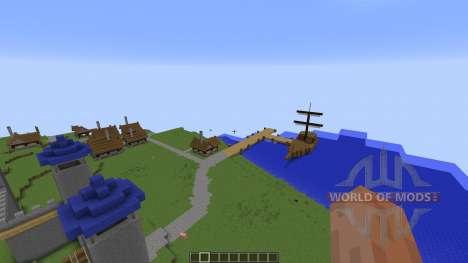 Hanachi Kingdom для Minecraft