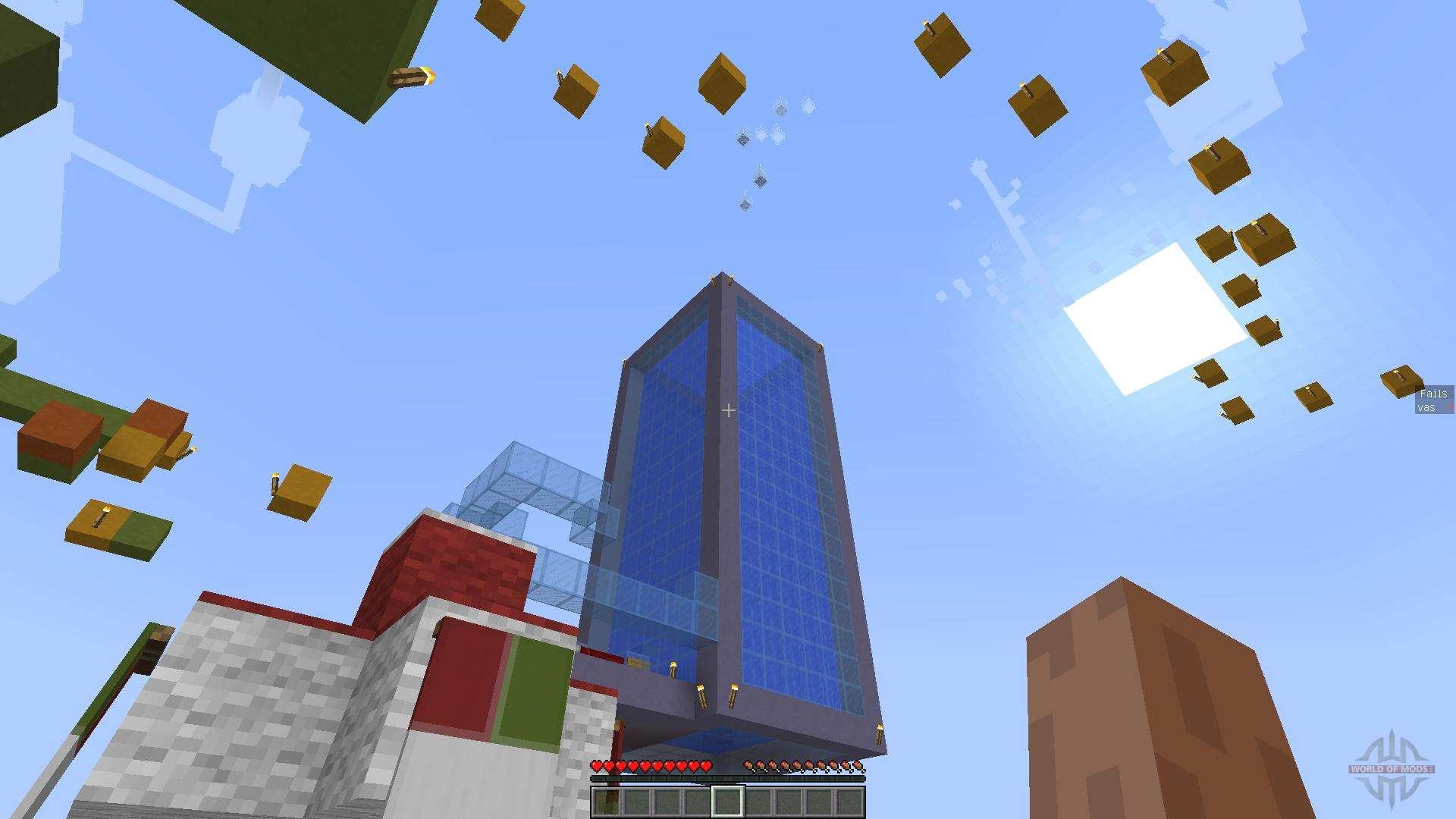 Паркур карты для Minecraft 1.9.2/1.8.9/1.7.10/1.7.2/1.5.2 ...