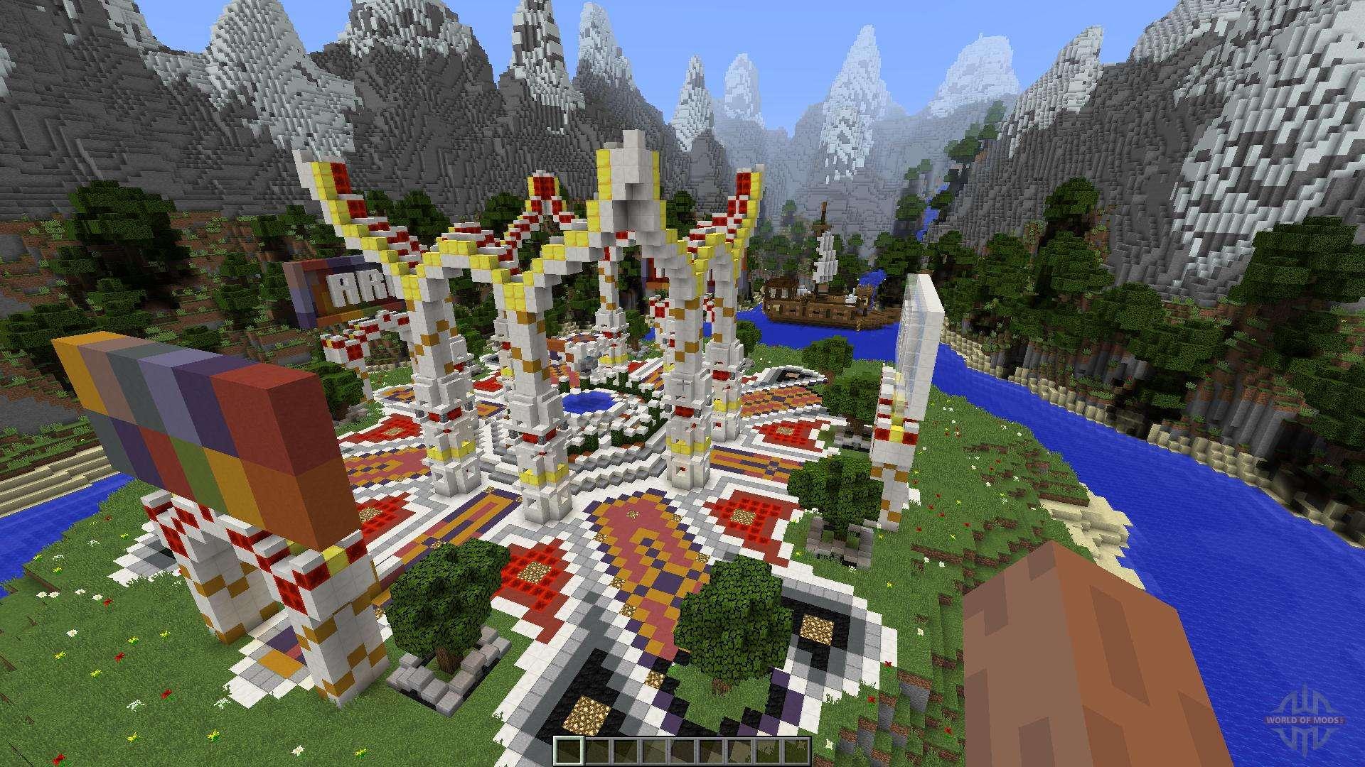 Спавны для серверов » Minecraft Doudle!- Скачай всё тут!