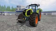 CLAAS Axion 950 v5.1 для Farming Simulator 2015