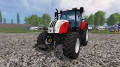 Steyr CVT 6160 v1.1 для Farming Simulator 2015