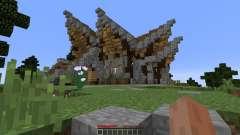 Fantasy nordic mansion