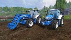 New Holland T6.160 v1.1 для Farming Simulator 2015