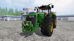 John Deere 8370R v3.1 для Farming Simulator 2015