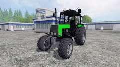 МТЗ-1025 Беларус жёлтый и зелёный