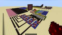 Redstone Calculator and Redstone Digital Clock