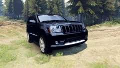 Jeep Grand Cherokee SRT-8 2009 для Spin Tires