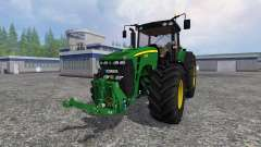 John Deere 8330 v4.0 для Farming Simulator 2015