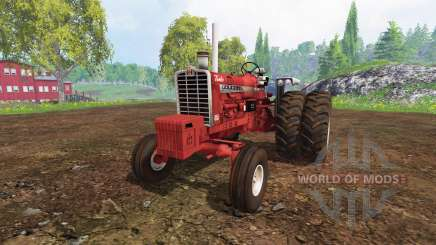 Farmall 1206 dually wheels для Farming Simulator 2015