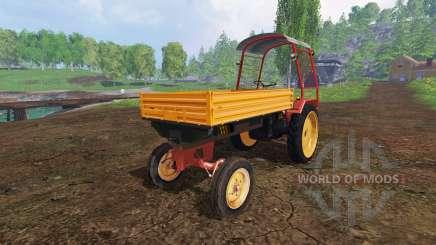 Fortschritt GT 124 with roof для Farming Simulator 2015
