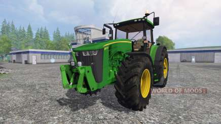 John Deere 8370R v3.0 для Farming Simulator 2015