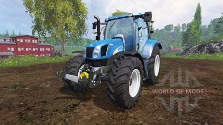 New Holland T6040 для Farming Simulator 2015