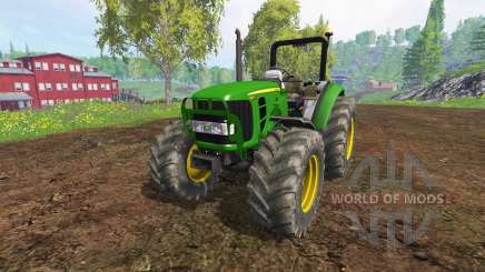 John Deere 5055 для Farming Simulator 2015