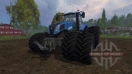 New Holland T8.320 dual wheels для Farming Simulator 2015