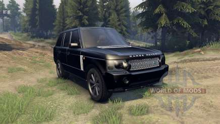 Range Rover Sport Black Final для Spin Tires