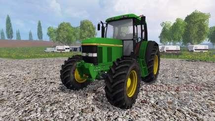 John Deere 6100 v2.0 для Farming Simulator 2015
