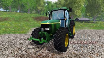 John Deere 6910 v2.0 для Farming Simulator 2015