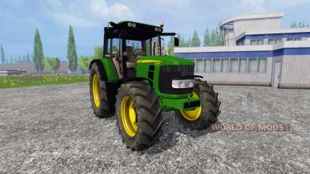 John Deere 6330 Premium v2.0 для Farming Simulator 2015