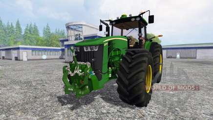 John Deere 8370R v3.1 для Farming Simulator 2015