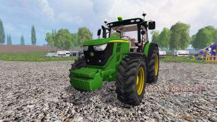 John Deere 6170R v3.0 для Farming Simulator 2015