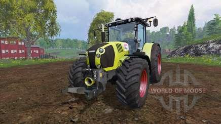 CLAAS Arion 650 v2.1 для Farming Simulator 2015
