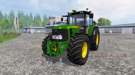 John Deere 6930 Premium v3.0 для Farming Simulator 2015