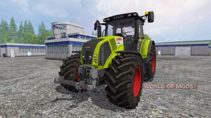 CLAAS Axion 850 v6.0 для Farming Simulator 2015