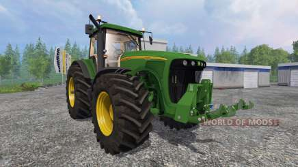 John Deere 8220 v2.0 для Farming Simulator 2015