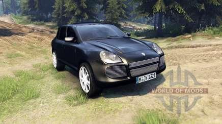 Porsche Cayenne для Spin Tires